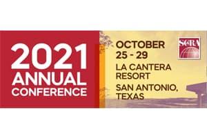 2021 SC&RA Annual Conference - October 25- 29 - La Cantera Resort, San Antonio, TX