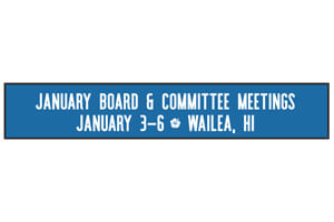 SC&RA January Board & Committee Meeting