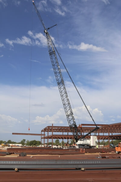 HC 285 on steel erection job