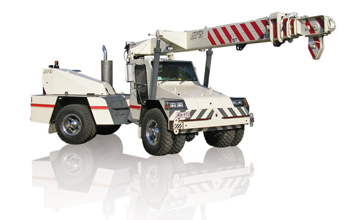 Terex AT 15 pick and carry crane
