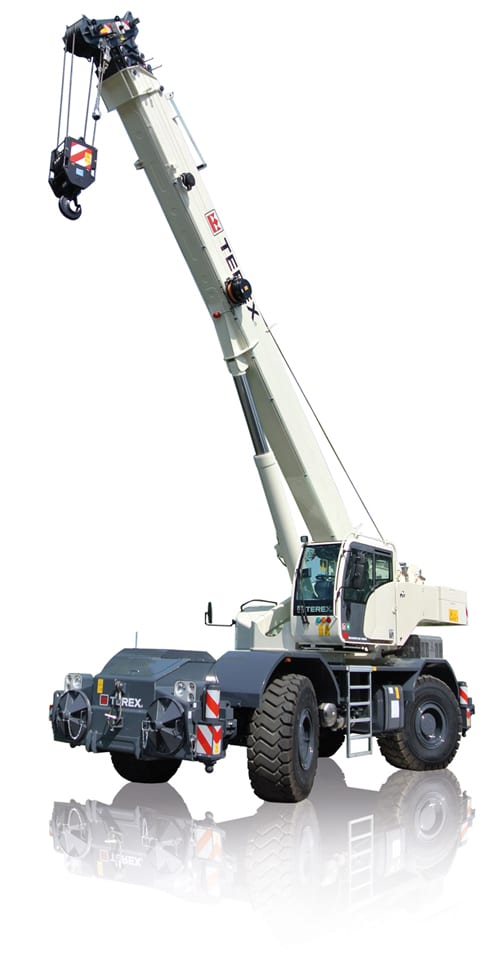Terex Quadstar 1065 rough terrain crane