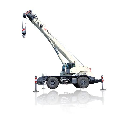 Terex Quadstar 1075L rough terrain crane