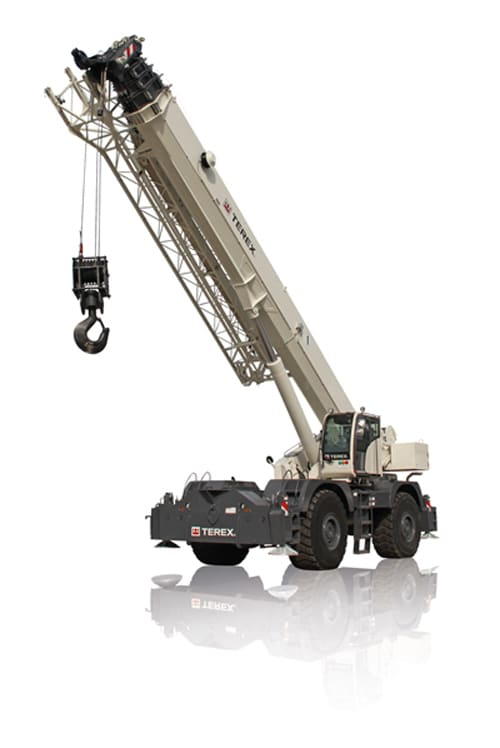 Quadstar 1100 rough terrain crane