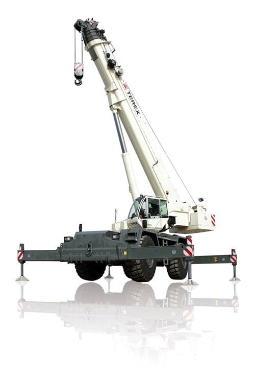 Terex RT 100 rough terrain crane