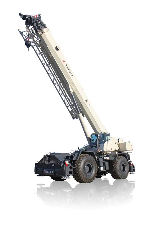 Terex RT 130 rough terrain crane