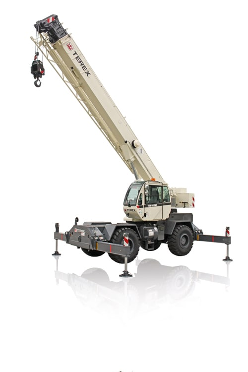 Terex RT 230 rough terrain crane