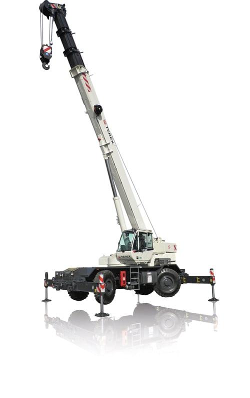 Terex RT 45 rough terrain crane