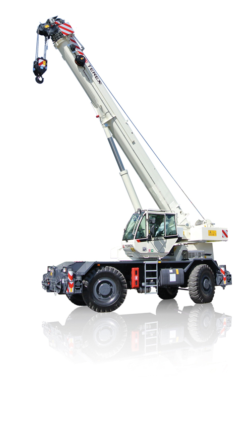 Terex RT 45L rough terrain crane