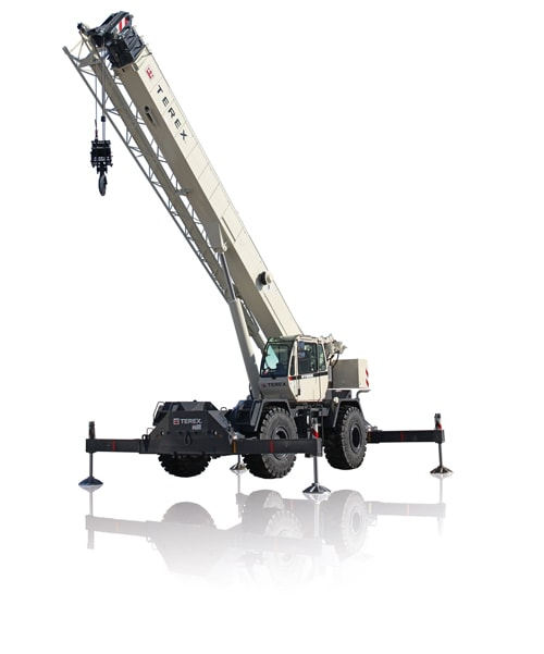 Terex RT 555 rough terrain crane