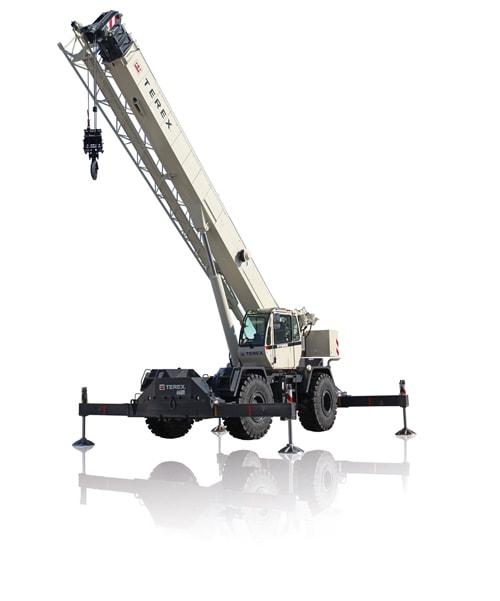 Terex RT 555 rough terrain crane