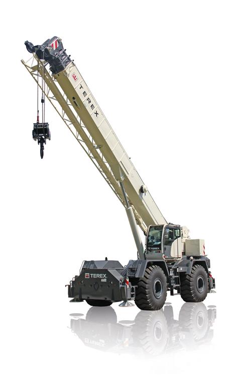 Terex RT 670 rough terrain crane