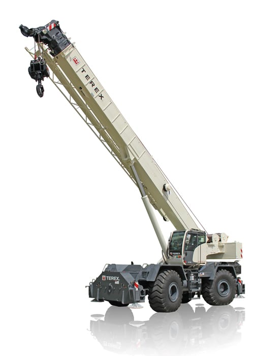 Terex RT 780 rough terrain crane