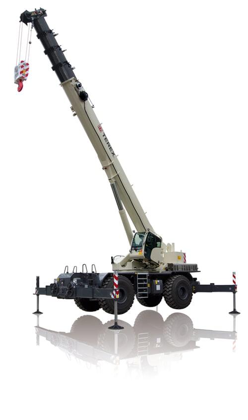 Terex RT 100US rough terrain crane