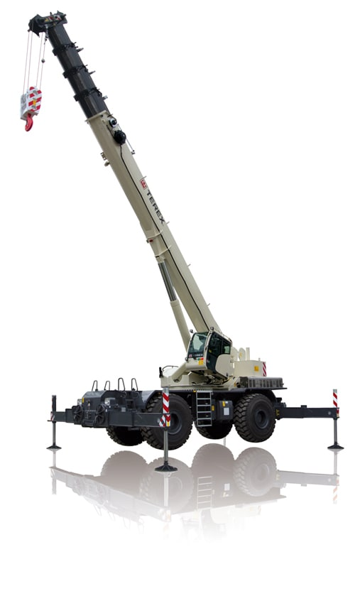 Terex RT 100US rough terrain crane