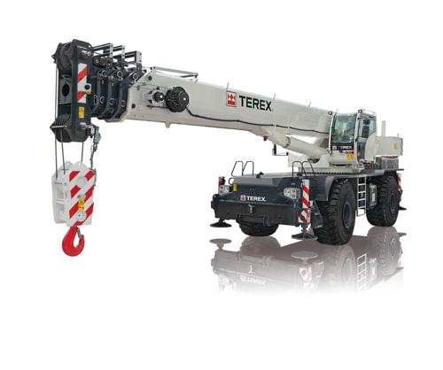 Terex RT 90 rough terrain crane