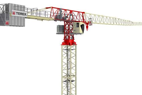 ctt 162 8 flat top tower crane terex cranes rh terex com Boom Truck Boom Truck