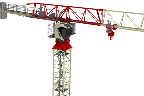 Terex CTT 182 Flat Top Tower Crane
