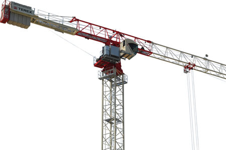 Terex CTT 191-10 flat top tower crane primary image