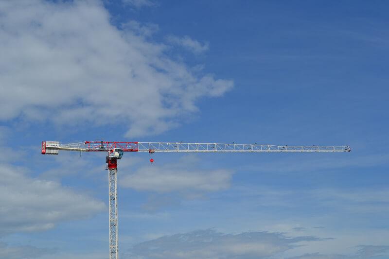 CTT 202-10 flat top tower crane