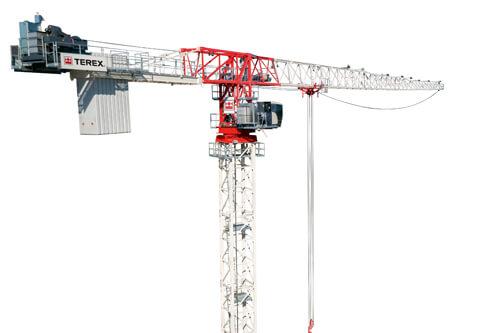 Terex CTT 472-20 flat top tower crane listing image