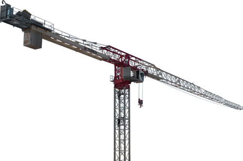 Terex CTT 721-40 flat top tower crane primary image