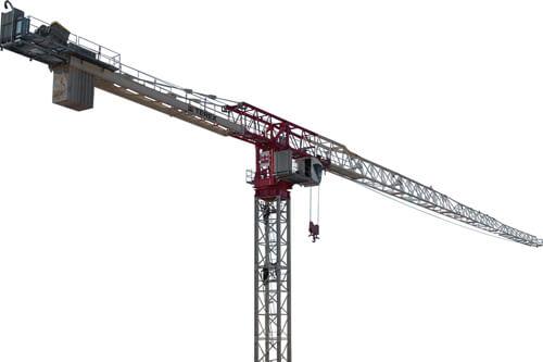 Terex CTT 721-40 flat top tower crane primary image