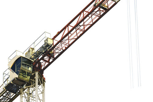 Terex CTT 91-5 flat top tower crane primary image