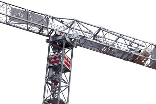 Terex FC 6.24H flat top tower crane listing image