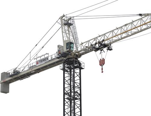 Terex SK 415-20 hammerhead tower crane alt2
