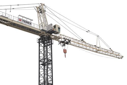 Terex SK 415-20 hammerhead tower crane primary image