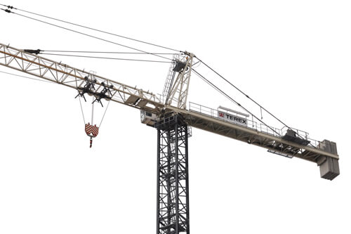 Terex SK 575-32 hammerhead tower crane