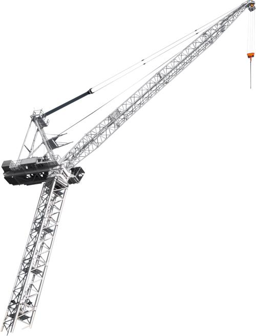Terex CTL 180-16 luffing jib tower crane alt1