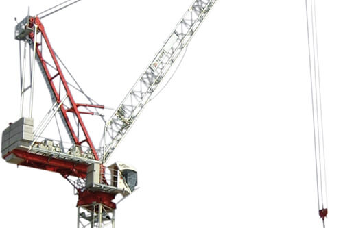 Terex CTL 180-16 luffing jib tower crane listing image