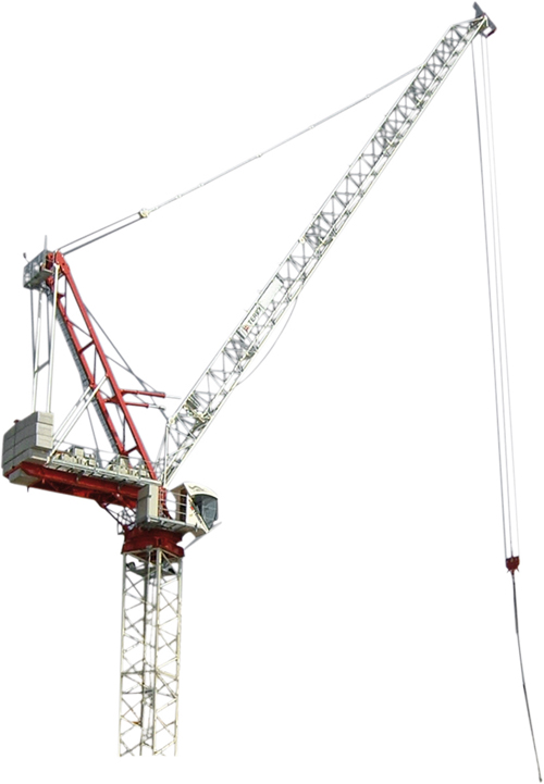 Terex CTL 180-16 luffing jib tower crane primary image