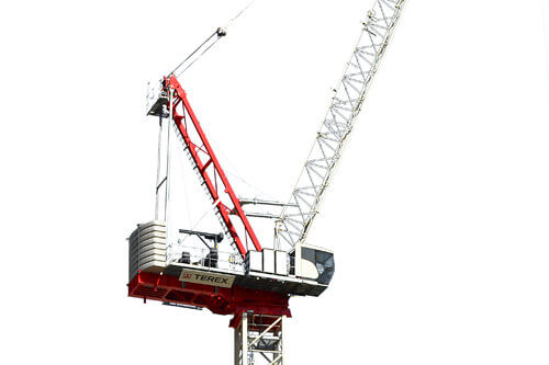 CTL 272-18 luffing jib tower crane
