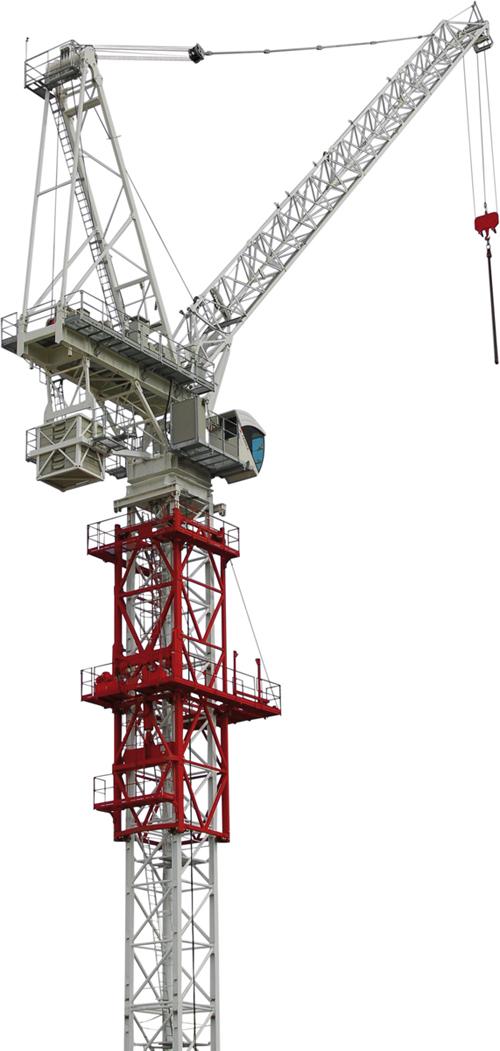 Terex CTL 340-24 luffing jib tower crane alt1