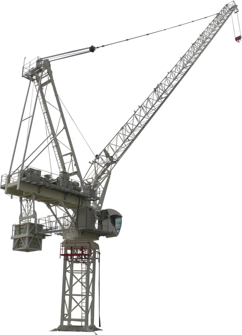Terex CTL 340-24 luffing jib tower crane primary image