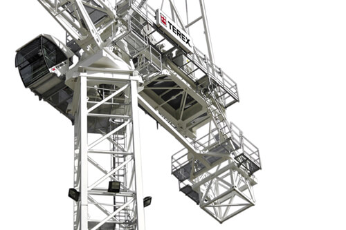 Terex CTL 430-24 luffing jib tower crane listing image