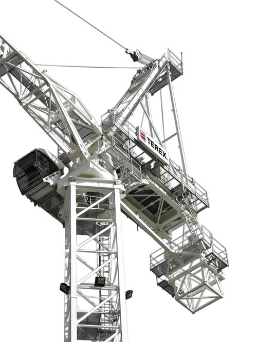 Terex CTL 430-24 luffing jib tower crane