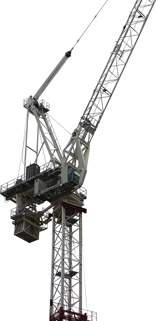Terex CTL 630B-32 luffing jib tower crane alt1