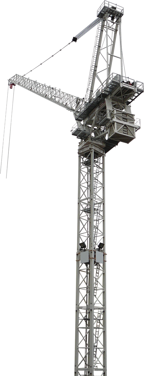 Terex CTL 630B-32 luffing jib tower crane