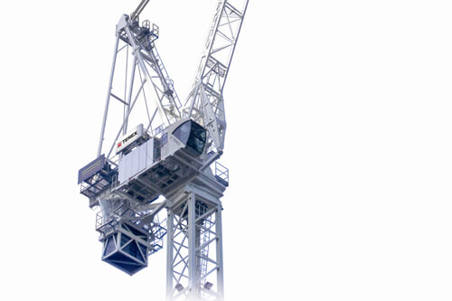 Terex CTL 650F-45 luffing jib tower crane listing image