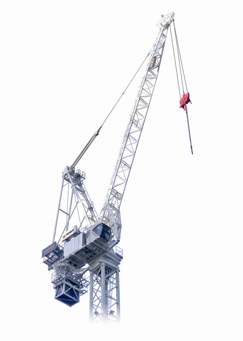 Terex CTL 650F-45 luffing jib tower crane