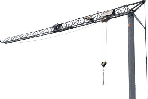 Terex CBR 21H self erecting tower crane
