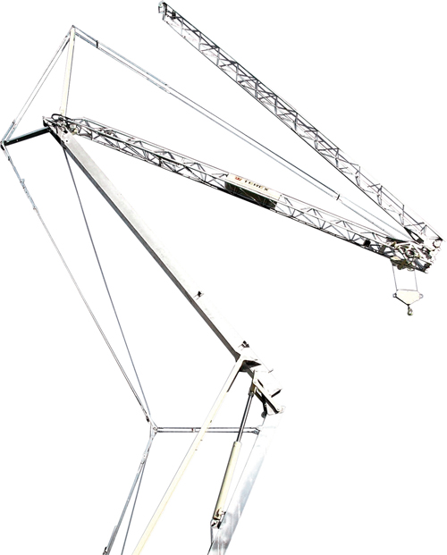 Terex CBR 24 PLUS self erecting tower crane alt1