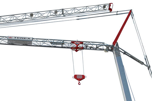 Terex CBR 24 PLUS self erecting tower crane primary image