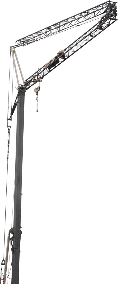 Terex CBR 28 PLUS self erecting tower crane