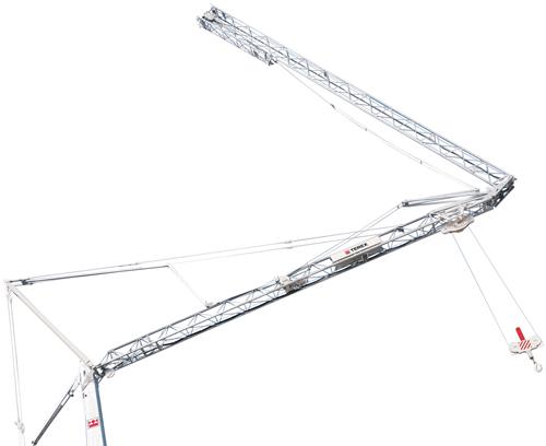 Terex CBR 32 PLUS self erecting tower crane