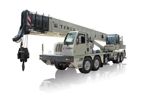 Terex T 560-1 truck crane