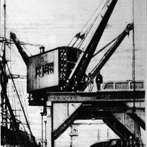 1906 Intro of 10t railway crane